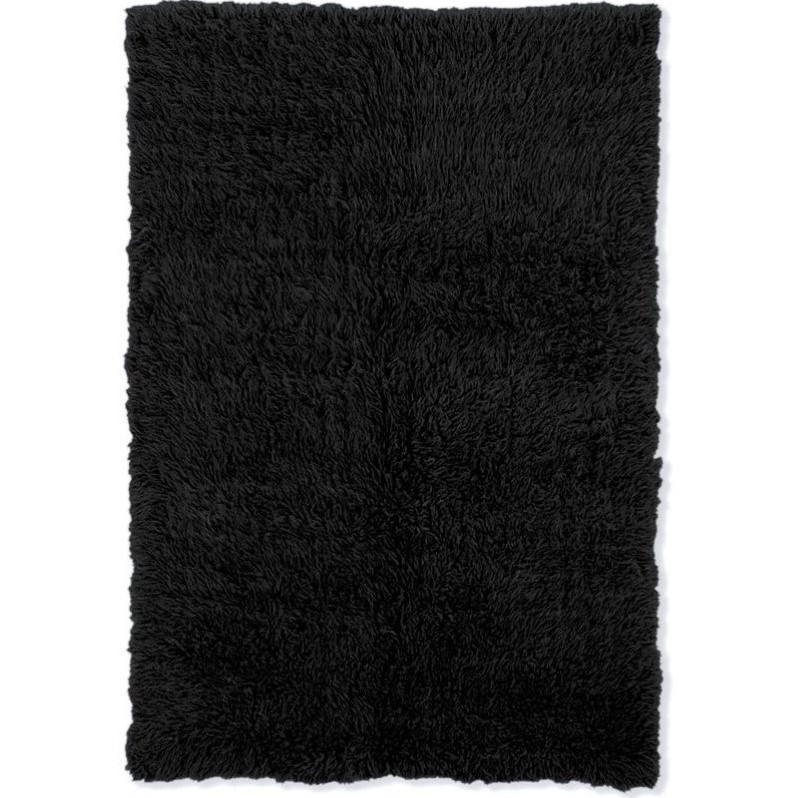 Riverbay Furniture 7' x 10' Hand Woven Area Rug in Black