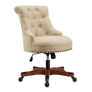 Riverbay Furniture Office Chair in Beige