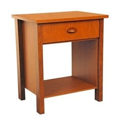 Venture Horizon Nouvelle Night Stand in Cherry