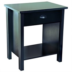 Venture Horizon Nouvelle Night Stand in Black