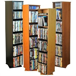 Venture Horizon CD/DVD Revolving Media Tower - Oak