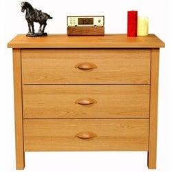 Venture Horizon Nouvelle 3 Drawer Chest in Oak