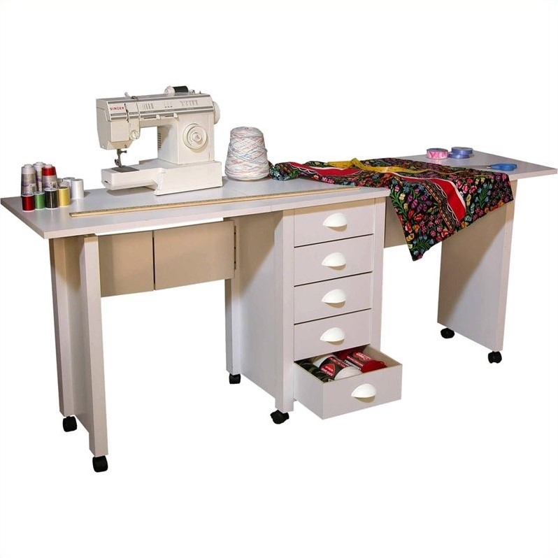 Venture Horizon Dual Desk Mobile Work Center