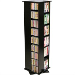 Venture Horizon CD/DVD Spinning Tower - Black