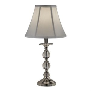 Allora Metal Table Lamp in Polished Chrome