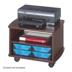 Picco Duo Printer Cart in Mahogany