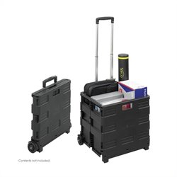Foldable Crate in Black