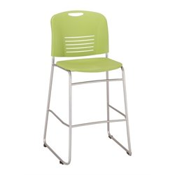 Vy Sled Base Bar Stool in Green
