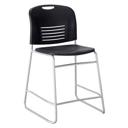Vy Sled Base Bar Stool in Black
