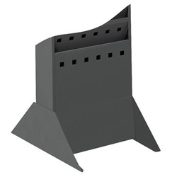 Safco Steel Magazine Rack