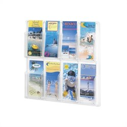 Safco Reveal 8 Pamphlet Display