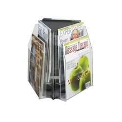 Safco Reveal 6 Magazine Tabletop Displays