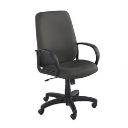 Safco Poise Black Executive High-Back Office Chair