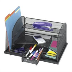 Safco Onyx Organizer With 3 Drawers