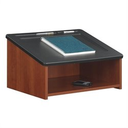 Safco Tabletop Lectern in Cherry
