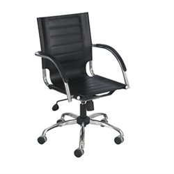 Safco Flaunt Managers Office Chair in Black