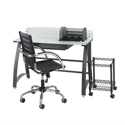Safco Xpressions 5PC Computer Desk Set