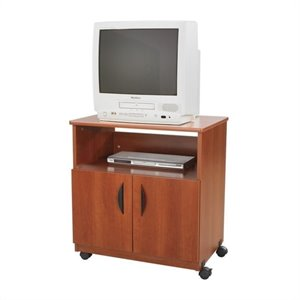 Safco Mobile Machine Stand in Cherry