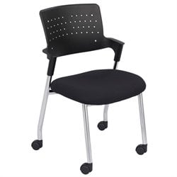 Guest Chair in Black (Set of 2)