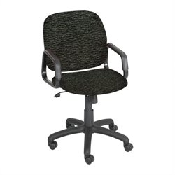 Safco Cava Urth High Back Chair in Black