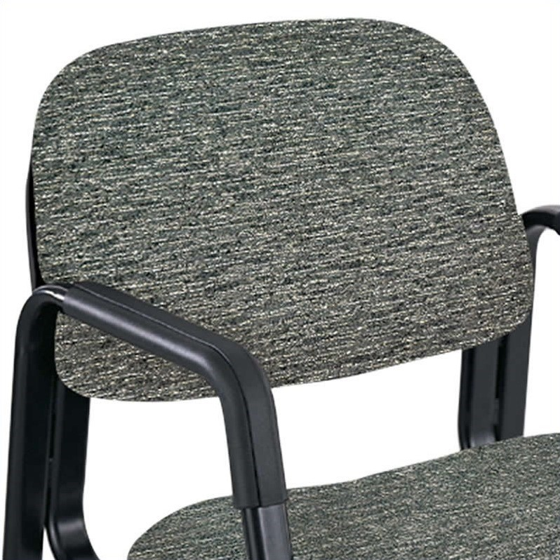Sled Base Guest Chair in Gray