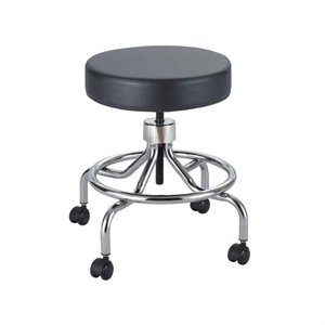 Black Lab Drafting Chair with Manual Low Base