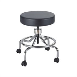 Safco Black Lab Drafting Chair with Manual Low Base