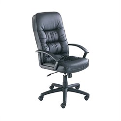 Adjustable High Back Executive Office Chair w/Tilt Control