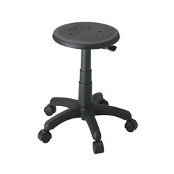 Safco Task Master Backless Office Stool in Black