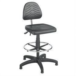 Safco Task Master Deluxe Dark Grey Workbench Chair/Drafting Stool