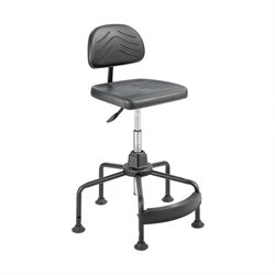 Safco Task Master Economy Industrial Chair in Black