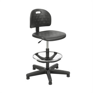 Economy Workbench Drafting Chair in Black