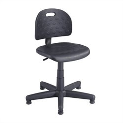 Safco Soft Tough Economy Task Drafting Chair in Black