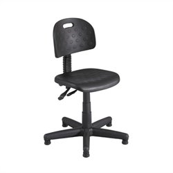 Safco Soft Tough Deluxe Black Task Drafting Chair/Drafting Chair