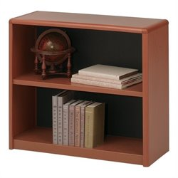 Safco 2-Shelf ValueMate® Economy Bookcase in Cherry