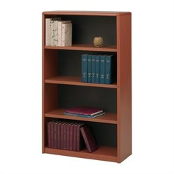 Safco 4-Shelf ValueMate® Economy Bookcase in Cherry