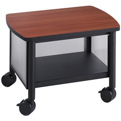 Under Table Printer Stand in Black
