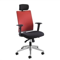 Safco Tez™ Manager Office Chair with Headrest in Tabasco