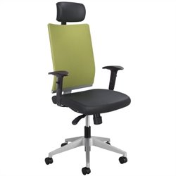 Safco Tez™ Manager Office Chair with Headrest in Wasabi