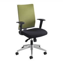 Safco Tez™ Manager Chair in Wasabi