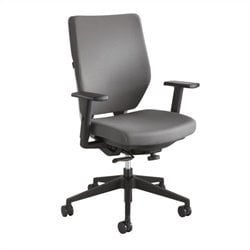 Safco Sol Task Office Chair with Arms in Gray