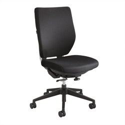 Safco Sol Task Chair in Black