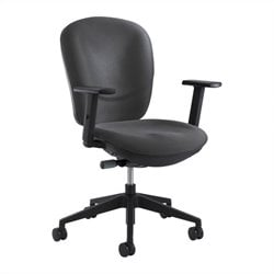 Safco Rae Task Office Chair in Charcoal