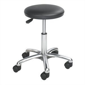 Economy Lab Stool in Black