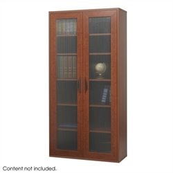 Safco Apres Modular Storage Tall Cabinet in Cherry