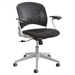 Task Office Chair Round Back in Black