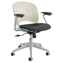 Task Office Chair Round Back in Latte