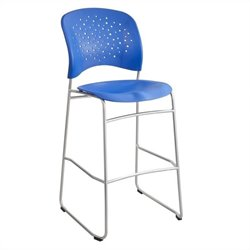 Safco Reve Counter Stool in Lapis