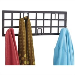Safco Grid Coat Rack in Black