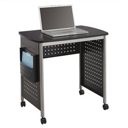 Safco Scoot Workstation in Black